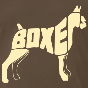 Boxer Dog Art T-Shirts - Men's Premium T-Shirt