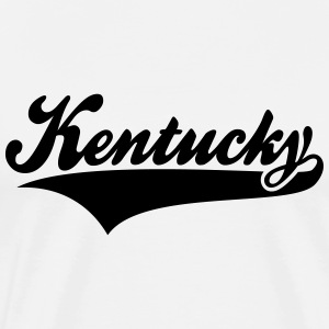 Kentucky State T-Shirt BW - Men's Premium T-Shirt