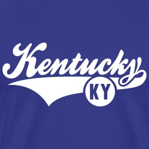 Kentucky US-KY State T-Shirt WB - Men's Premium T-Shirt