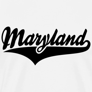 Maryland State T-Shirt BW - Men's Premium T-Shirt