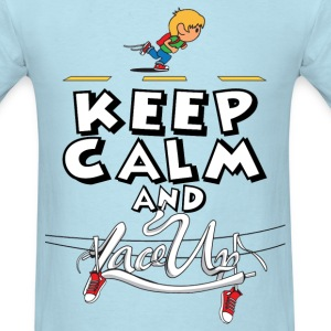 keep calm and lace up T-Shirts - Men's T-Shirt
