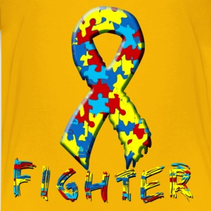 Autism Fighter Kids' Shirts - Kids' Premium T-Shirt
