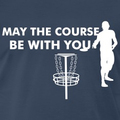 Disc Golf Silhouette T-Shirts