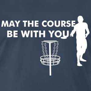 Disc Golf Silhouette T-Shirts - Men's Premium T-Shirt