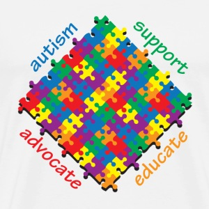 Autism Support T-Shirts - Men's Premium T-Shirt