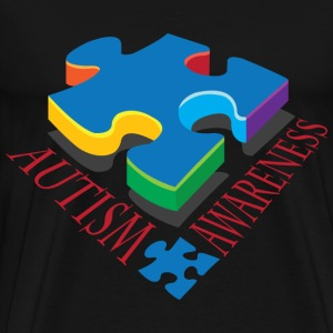Autism Awareness Puzzle Piece T-Shirts - Men's Premium T-Shirt