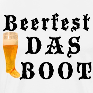 German Beerfest Das Boot T-Shirt - Men's Premium T-Shirt