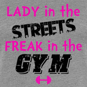 FREAK in the Gym - Women's Premium T-Shirt
