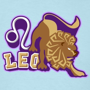 zodiac sign leo T-Shirts - Men's T-Shirt