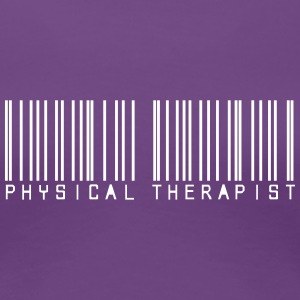 Barcode physical therapist Women's T-Shirts - Women's Premium T-Shirt