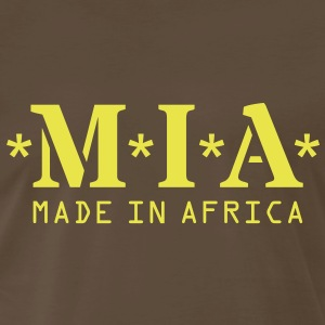 M.I.A. Made In Africa T-Shirts - Men's Premium T-Shirt