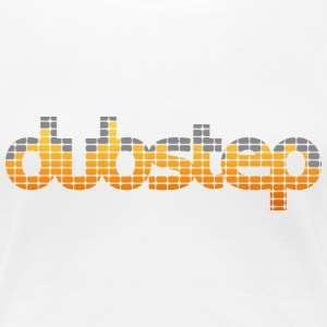 Dubstep EQ (Orange) Women's T-shirts - Women's Premium T-Shirt