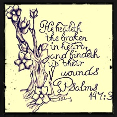 Cherry Blossom Psalms 147:3
