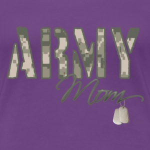 Army Mom - Women's Premium T-Shirt