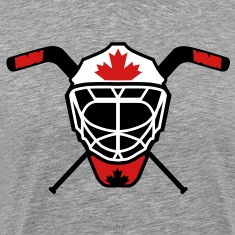 Hockey Goalie Mask Helmet Canada T-Shirts