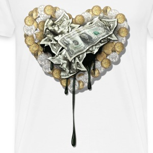 the love of money - Men's Premium T-Shirt