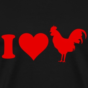I Love Cock - Men's Premium T-Shirt