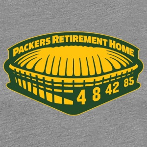 PACKERS RETIREMENT HOME Women's T-Shirts - Women's Premium T-Shirt