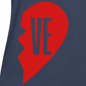 ve - love right side Women's T-Shirts - Women's Premium T-Shirt