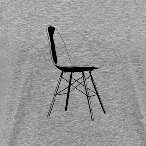 eames black - Men's Premium T-Shirt