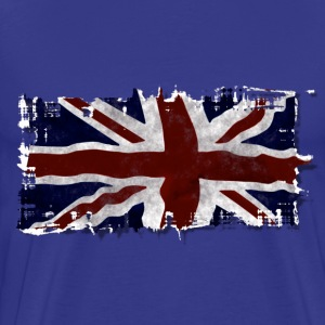 UK Union Jack Flag - Men's Premium T-Shirt