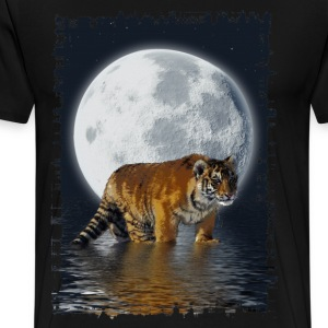 Tiger Moon - Men's Premium T-Shirt