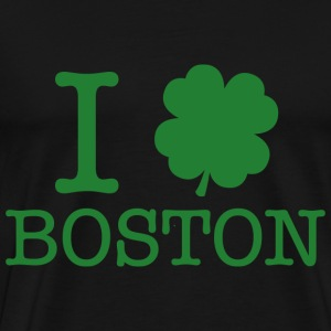 I Shamrock Boston - Men's Premium T-Shirt