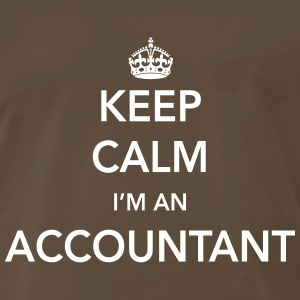Keep Calm, I'm an Accountant T-Shirts - Men's Premium T-Shirt