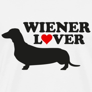 Wiener Lover - Men's Premium T-Shirt