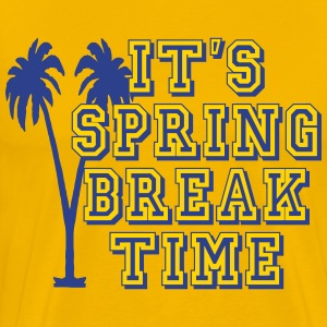 its_spring_break_time T-Shirts - Men's Premium T-Shirt