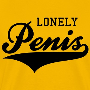 LONELY Penis T-Shirt BY - Men's Premium T-Shirt