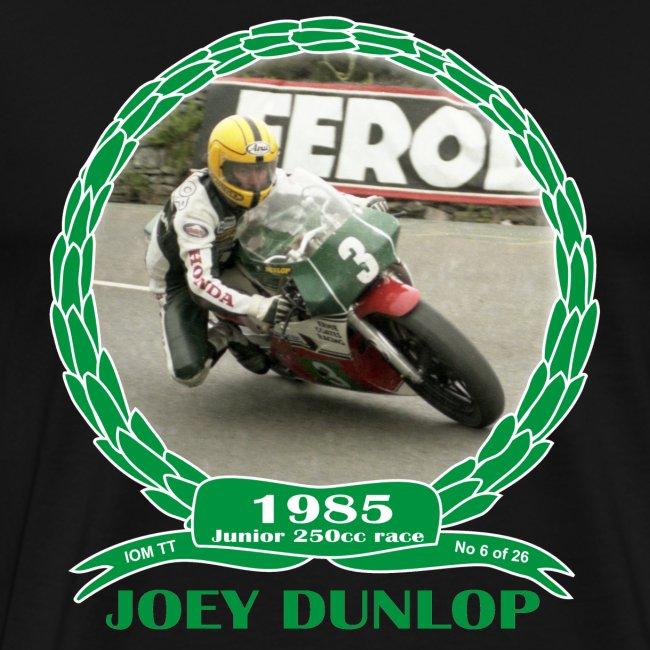 No 6 Joey Dunlop TT 1985 Junior