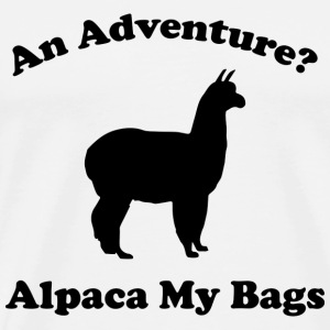 An Adventure? Alpaca My Bags - Men's Premium T-Shirt