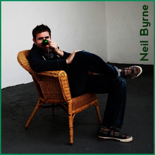 Mens 3XL/4XL - Neil Byrne - Green Nose