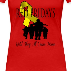 Red Fridays - Women's Premium T-Shirt