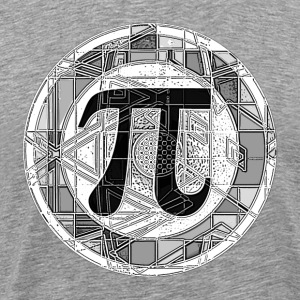 Pi Day Round - Men's Premium T-Shirt
