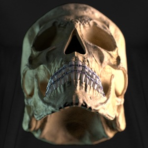 skull braces - low - Men's Premium T-Shirt