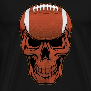 american football skull - Men's Premium T-Shirt