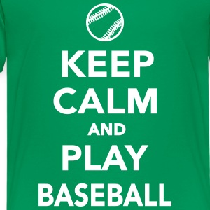 Keep calm and play Baseball Kids' Shirts - Kids' Premium T-Shirt