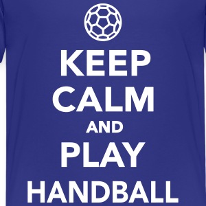 Keep calm and play Handball Kids' Shirts - Kids' Premium T-Shirt