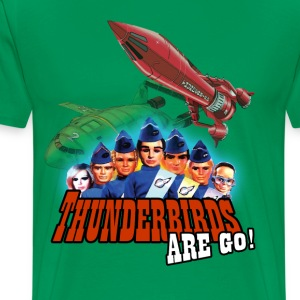 thunderbirds are go shirt - Men's Premium T-Shirt