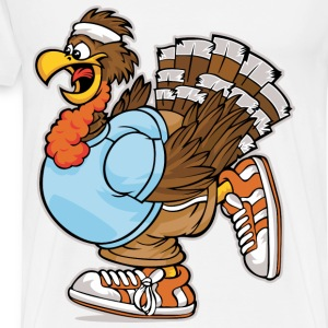 turkey run - Men's Premium T-Shirt