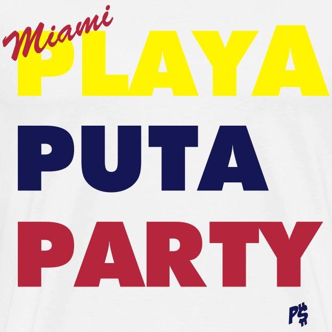 Men's Miami Motto (Colombian, Venezuelan Edition)