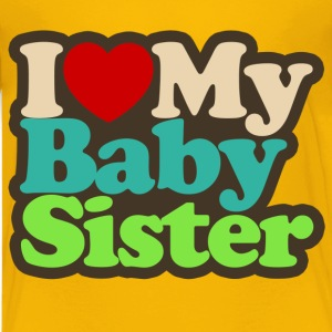 i love my baby sister - Kids' Premium T-Shirt