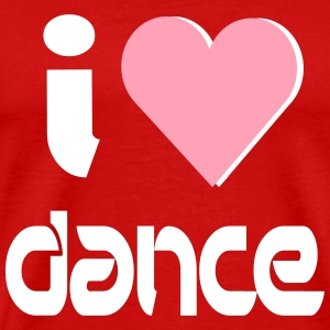 I Love Dance T-Shirts - Men's Premium T-Shirt