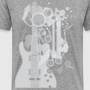GUITAR-POP TUNES - Men's Premium T-Shirt