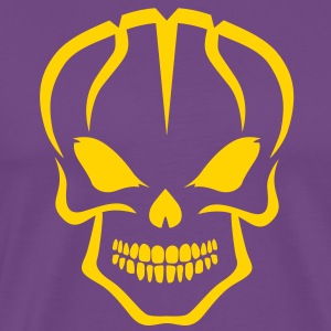 Basket Skull Los Lakers - Men's Premium T-Shirt