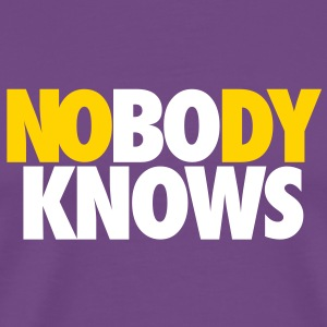 NOBODY KNOWS BUT BO T-Shirts - Men's Premium T-Shirt