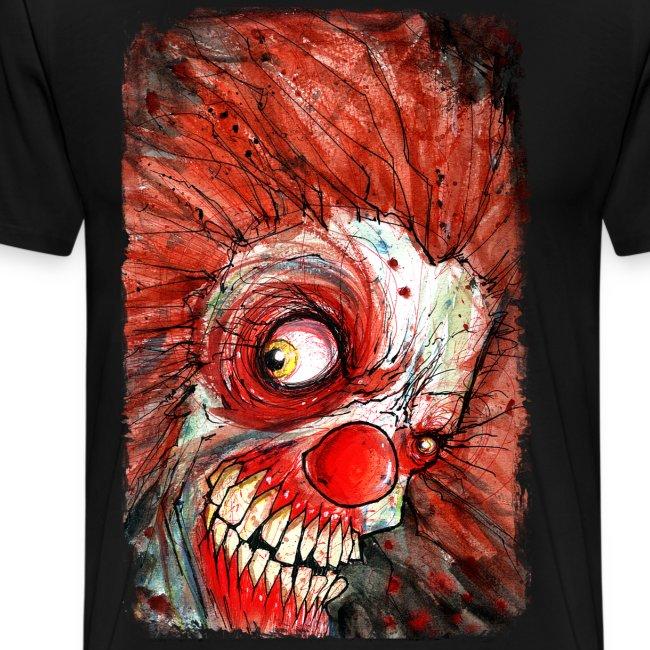 mens zombie clown