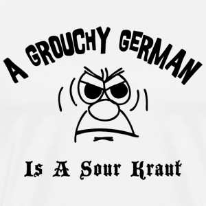 Funny German T-Shirt - Men's Premium T-Shirt